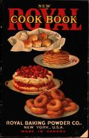 New royal cook book by Royal Baking Powder Company published in 1922