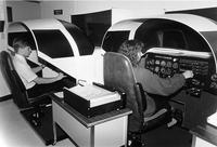 Early aviation simulator